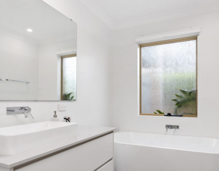 Bathroom completed professional