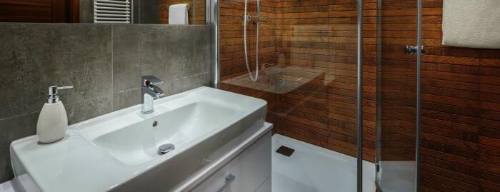 Very attractive bathroom renovation