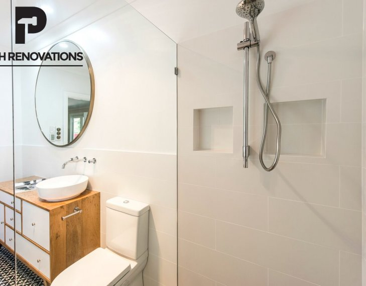 Bathroom fit out complete