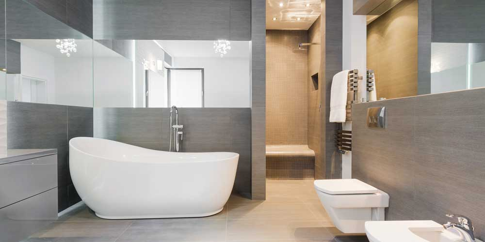 Completion of a flawless bathroom renovation