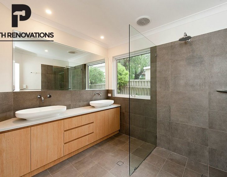 Biction bathroom renovation