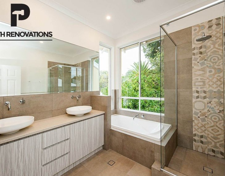 Bicton bathroom renovation