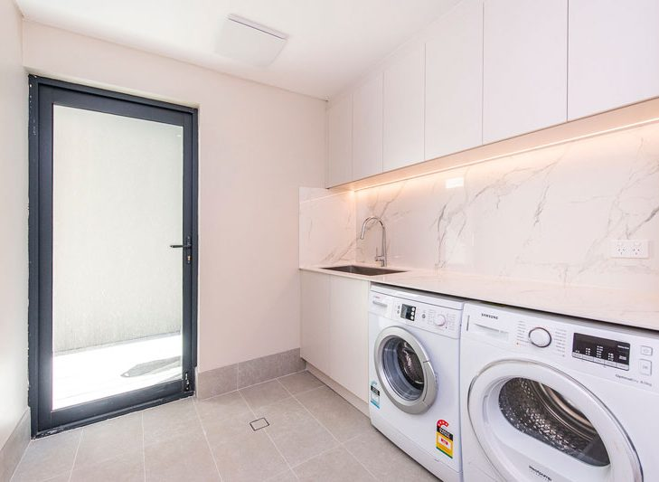 Charles street laundry renovation