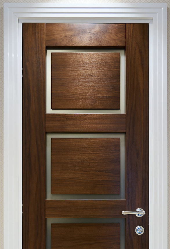 Door Architrave selected carefully to match the door.