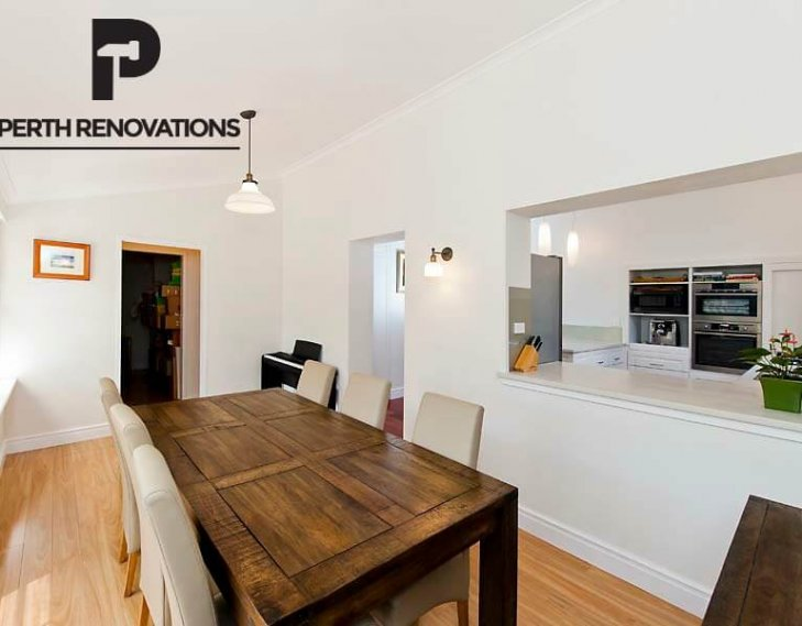 Elegant feature dining room