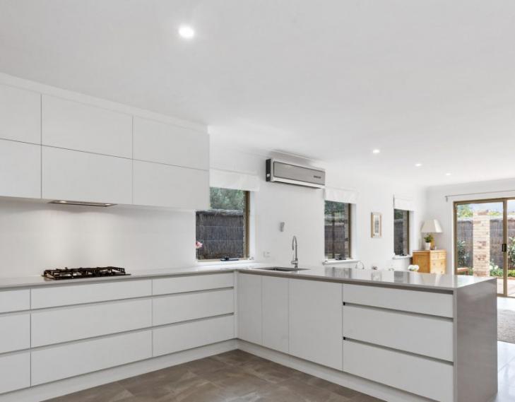 Inside kitchen angle