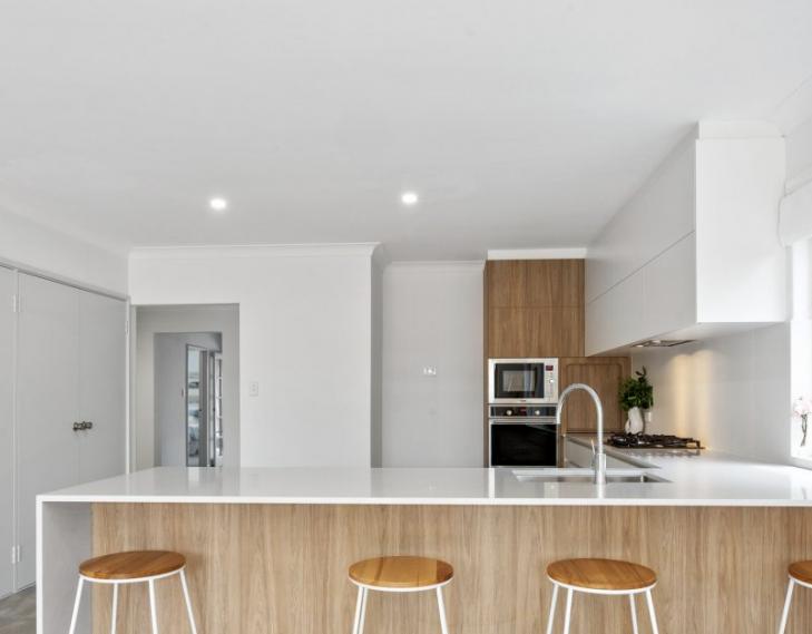 Kitchen front on