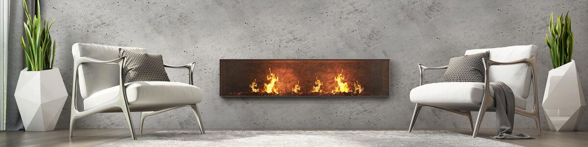 Modern fire place idea