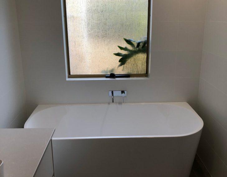 New bath tub