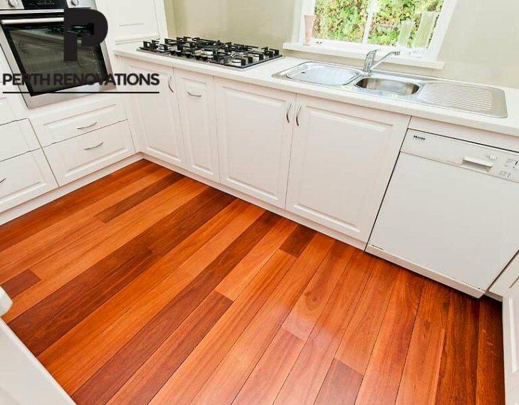 Pristine kitchen design