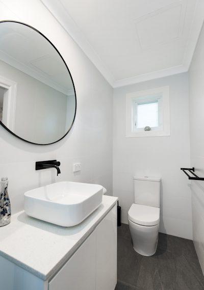 small bathroom build