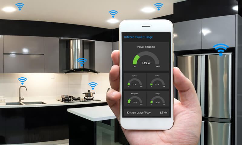 A fully functional smart kitchen