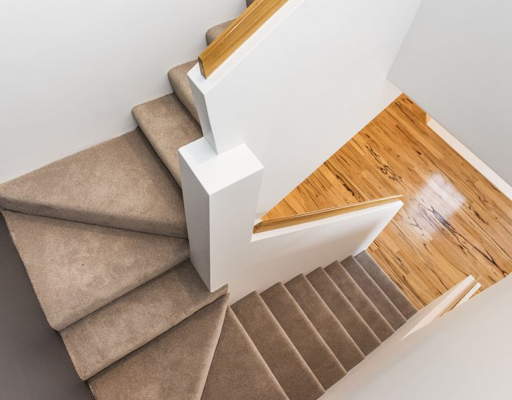 Stair case renovated