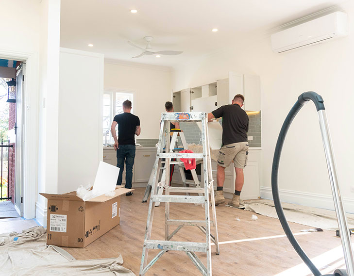 Perth Renovations Co on site