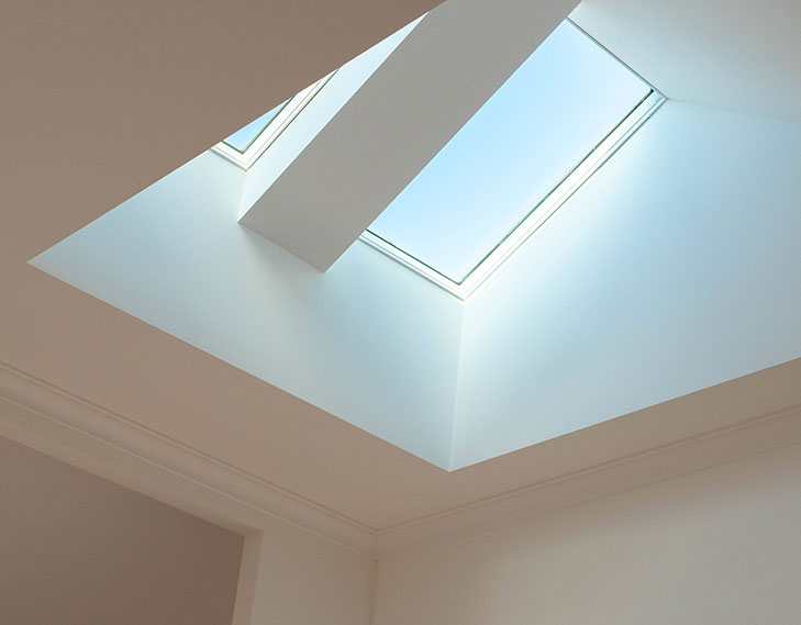 Skylight from top