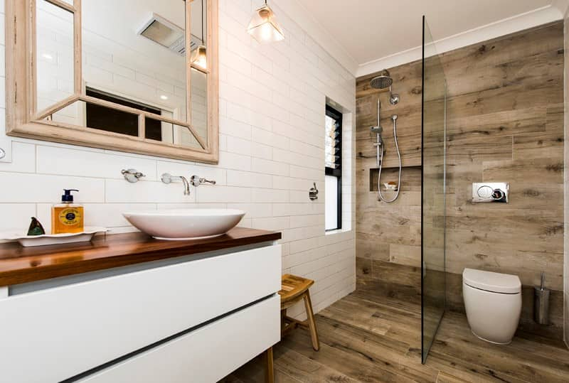 Renovated bathroom, North Fremantle