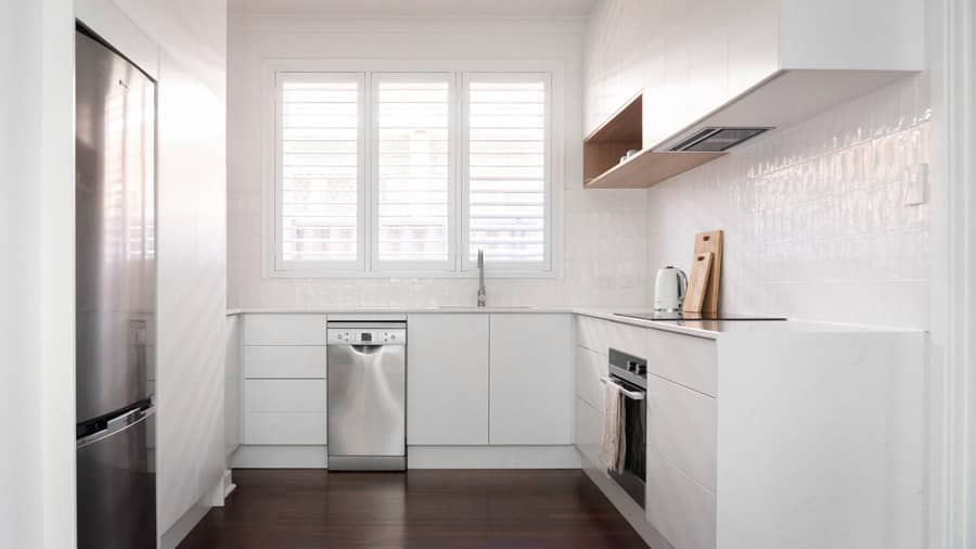converted kitchen space
