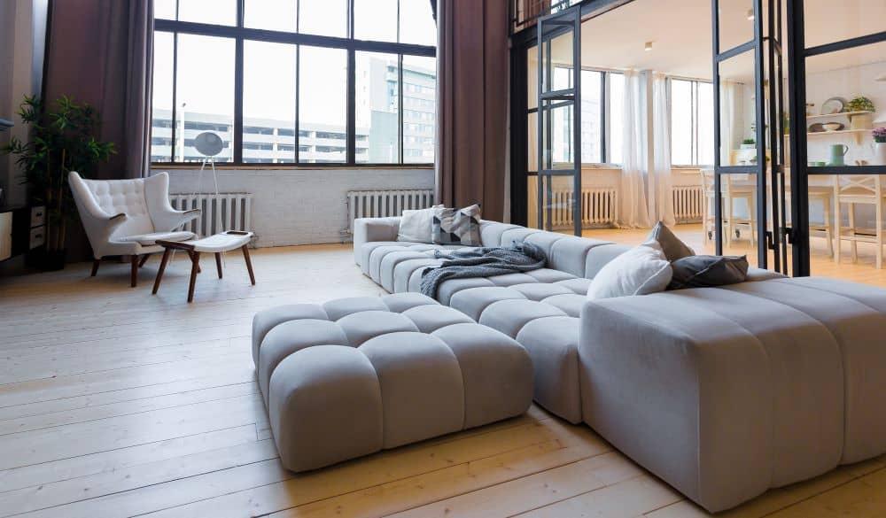Second level apartment.